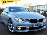 2015 BMW 4 SERIES 420D M SPORT AUTOMATIC COUPE DIESEL COUPE DIESEL