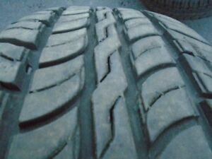 P245/65R17 Fusion tires with 95% tread
