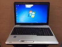 Toshiba Quick laptop (Kodi) 250GB, 3GB Ram, HDMI, Windows 7, Microsoft office, Good Condition