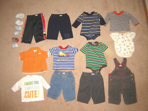 Baby Boy Clothes - 0-3, 3, 3-6, 6, 6-12 months