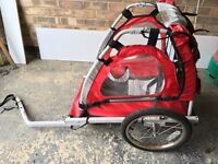 Halfords single buggy bike trailer