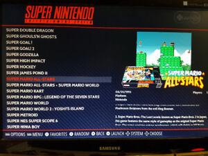 Retropie Game System NES SNES SEGA N64 Atari Gameboy and KODI