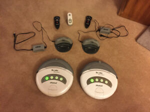 TWO AWESOME IROBOT ROOMBA VACUUMS EXCELLENT CONDITION