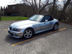 BMW Z3 2.8L 1999 Roadster manuel 5 vit. Pas d'hiver, négociable