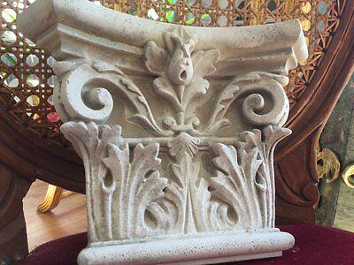 Stucco - 118-100B aus Beton - Pilasterkapitell - Korinthisch sehr edel Fassade