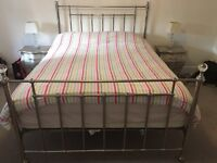 John Lewis King size bed frame (excellent condition)