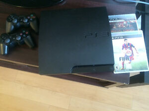 PS3 +2 controller +3 games
