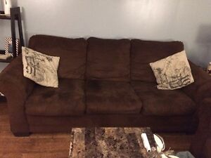 Couch, Loveseat, Coffee & End tables