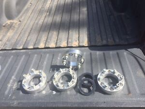 """1.25"""" Chevy wheel spacers 1.25 NEW rough country body lift"""