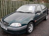 Toyota Avensis 1.8 VVT-i Vermont ONLY 42000 Miles