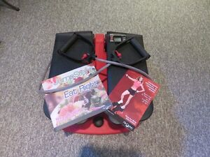 Air Climber Exercise System Complete with DVD