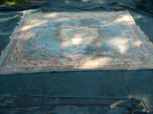 Large Blue Area Rug