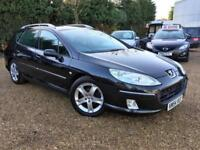 Peugeot 407 SW SE 2.0HDi 136 Pan roof Warranty & delivery available Px welcome