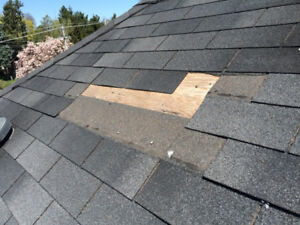 Cheap Roof Repairs , Roofing , Shingle Damage