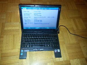 Fujitsu T2010 Tablet Laptop computer parts or repair