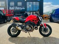 2014 64 DUCATI MONSTER 821, EXCELLENT CONDITION, £6,790 OR FLEXIBLE FINANCE