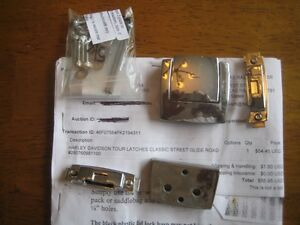 Harley Davidson tour pack latch and screws ( used)