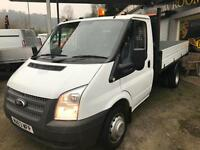 2014 63 FORD TRANSIT 2.2TDCi ( 125PS ) ( EU5 ) ( RWD ) 350 LWB SINGLE CAB TIPPER