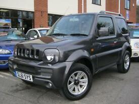 2011 61-Reg Suzuki Jimny 1.3 SZ4, MET GREY FULL BLACK LEATHER,2 OWNERS!!!