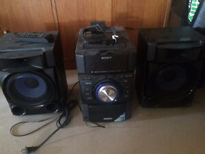 Sony Speakers and Receiver