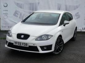 2010 SEAT LEON 2.0 FR CR TDI DIESEL 170 BHP UPGRADED 18 INCH GRAPHITE ALLOY WHEE