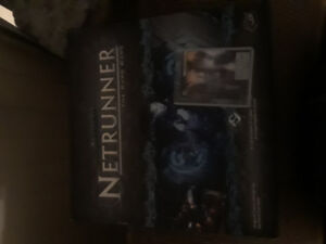 Netrunner base set with promo scorched earth card