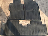 HondaCivic 00-05 Rubber floor mats Trunk cover