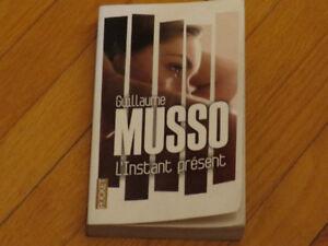 GUILLAUME MUSSO/ L'INSTANT PRÉSENT / LITTÉRATURE