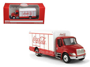 COCA COLA BEVERAGE TRUCK 1/87 HO SCALE DIECAST MODEL BY MCC  870001