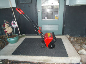 Get ready for next winter Electric snow blower for small areas