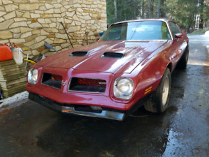 Rare 1976 firebird with a big block of 455