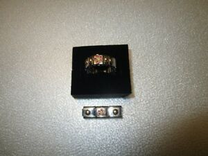Nomination Ring and Matching Charms For Sale.