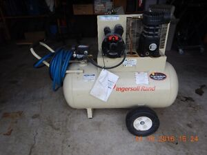 Ingersol Rand 30 gallon Air compressor as new