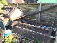 Large chicken coop / run / hen house