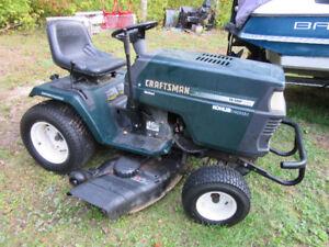 """46"""" Craftsman Riding Lawnmower"""