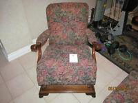 Chair and Stool Online Auction Bidding Closes July 9 @ 12