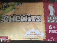Ice Cream Chewits x7 3 Packs Available