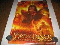 2-Funky 2003 LOTR. >THE RETURN OF THE KING< *ARAGORN* Posters