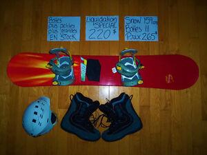 159 cm Snowboard planche à neige MORROW