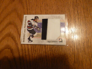 06/07 ITG Heroes and Prospects Angelo Esposito Jersey Card