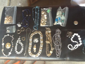 Large lot of costume jewllery $15  for all