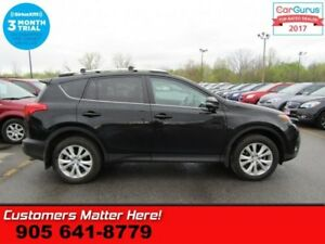 2015 Toyota RAV4 Limited  AWD NAV ROOF LEATHER HS 8W-SEAT SMART-