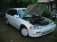 1988 Honda Civic Hatchback