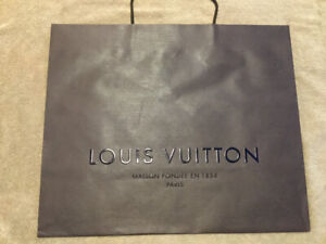 Louis Vuitton brown paper bag - for gift wrapping