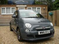 FIAT 500 S 2015 Petrol Manual in Grey