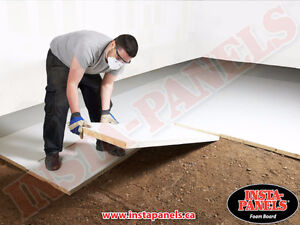 LOOK Under Concrete Board Insulation GREAT Deal $0.75/ft2 Kawartha Lakes Peterborough Area image 2