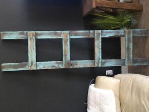 Solid wood blanket ladder