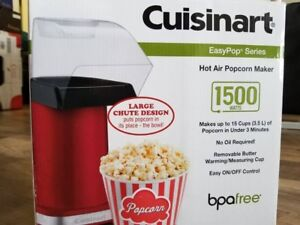 Cuisinart Popcorn Maker. Barely used twice.