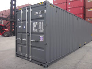 Containers maritimes 40ft neufs et occasions