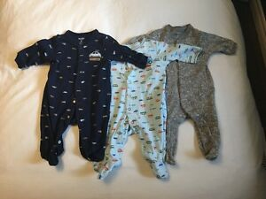 Carters Baby Sleepers 3 months